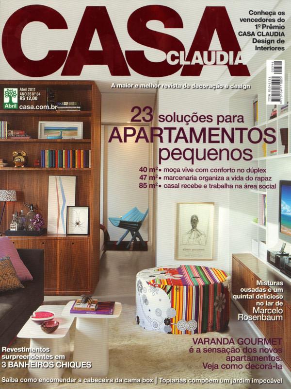 Mídia: Casa Claudia Abril 2011