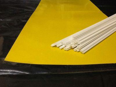 Produtos em Destaque: VARETA PVC FORMATO H P/ ENCAIXAR 1,5mm X 1000mm PCT C/ 10