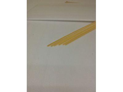 VARETAS EM PVC / ABS: CANTONEIRAS EM ABS: CANTONEIRA EM ABS 2mm X 1000 PCT C/ 10 UNID ( marfim )