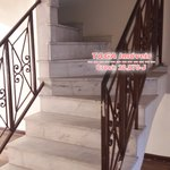 Escada de acesso superior